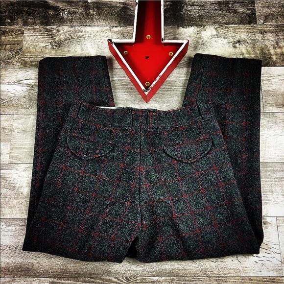 be12fb409aabf Vintage Pants | Johnson Woolen Mills Wool Outdoor | Poshmark